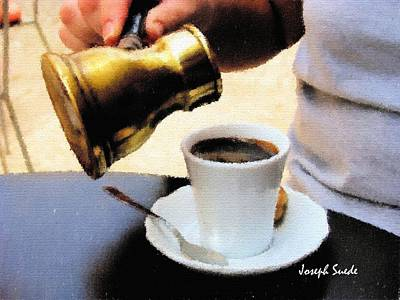 Photograph - Do-00520 Turkish Coffee by Digital Oil