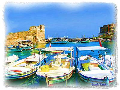 Photograph - Do-00524 Byblos Old Port by Digital Oil