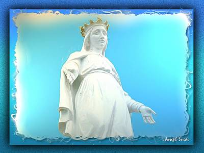 Do-00531 Our Lady Of Lebanon Art Print by Digital Oil