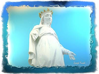 Photograph - Do-00532 Our Lady Of Lebanon by Digital Oil