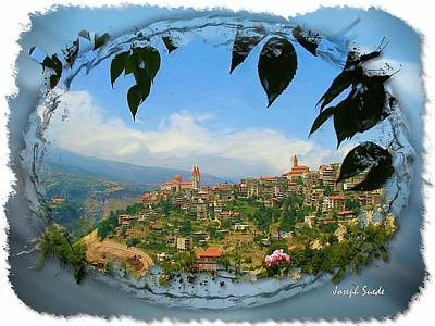 Photograph - Do-00548 Town Of Bcharre by Digital Oil