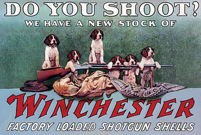 Winchester Painting - Do You Shoot by Unknown