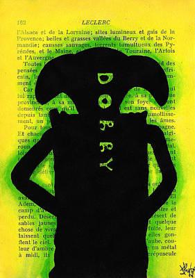 Dobby Silhouette Art Print