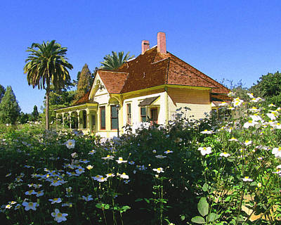 Csuf Photograph - Doc Clark's House by Timothy Bulone