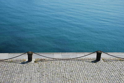 Dock Chain By Pavement Art Print by Photography by Kévin Niglaut