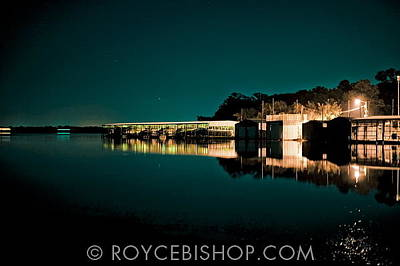 Photograph - Docks On Glass by Royce Bishop