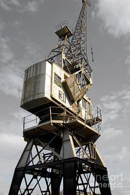 Photograph - Dockside Crane 2 by Jo