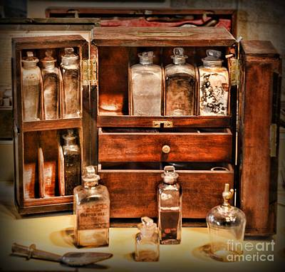 Drug Photograph - Doctor - The Medicine Cabinet by Paul Ward