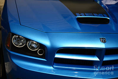 Dodge Charger Srt8 Super Bee Art Print by Paul Ward