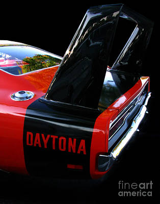 Photograph - Dodge Daytona Fin 02 by Peter Piatt