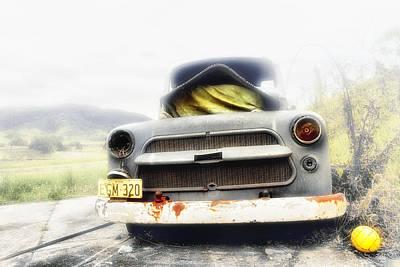 Digital Art - Dodge Egm-320 by Kevin Chippindall