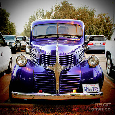 Car Photograph - Dodge Truck by Nina Prommer