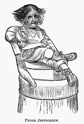 Dog-faced Boy, 1874 Art Print by Granger
