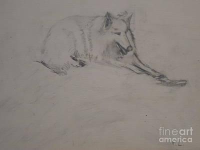Dog With A Bone Original by Pauline Landau
