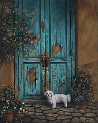 Polaroid Camera - Doggie Door by Sergei Kasaz