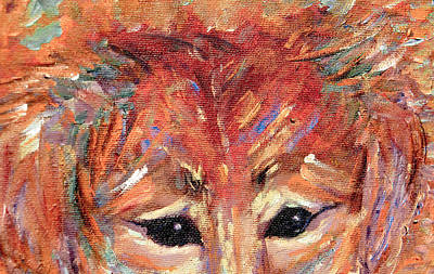 Painting - Doggie Eyes by Christy Usilton