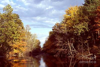 Art Print featuring the photograph Dogleg Lake by Jack R Brock