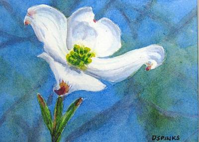 Painting - Dogwood by Debra Spinks