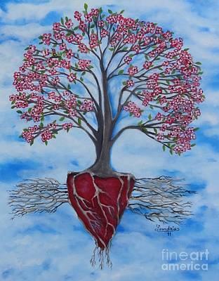 Dogwood Greentree Proverb Art Print