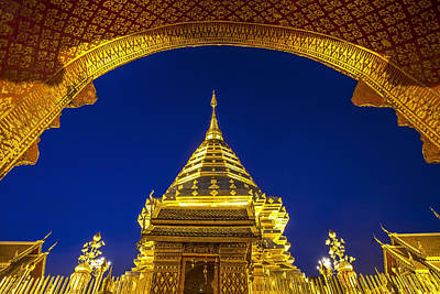 Lord Buddha Photograph - Doi Suthep  by Anek Suwannaphoom