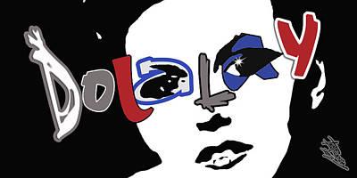 Digital Art - Dolalay- Bumper Sticker by Atheena Romney