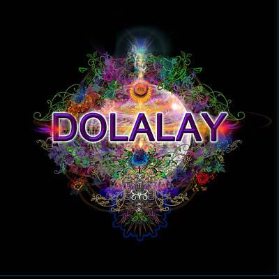 Digital Art - Dolalay- Logo by Atheena Romney