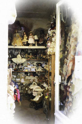 Photograph - Doll Boutique Paris by Donna Munro