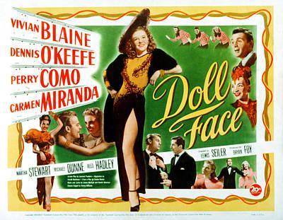 Doll Face, Carmen Miranda, Dennis Art Print by Everett