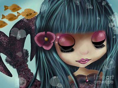 Doll From The Sea Art Print