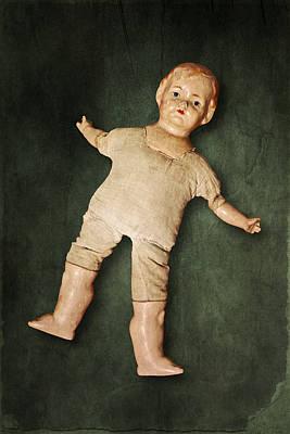 Nude Children Photograph - Doll by Joana Kruse
