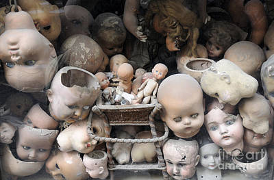 Photograph - Doll Parts by Ed Rooney
