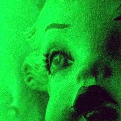 Horror Photograph - #doll#igdungeon #igfm #horror#green#art by Jenni Martinez