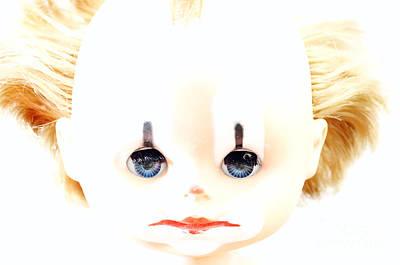 Fluttering Photograph - Dolly - Clown by Michal Boubin