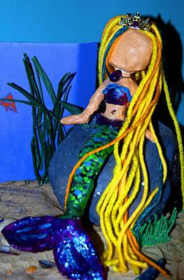 Mermaid Photograph - Dolly Mermaid by LeeAnn McLaneGoetz McLaneGoetzStudioLLCcom