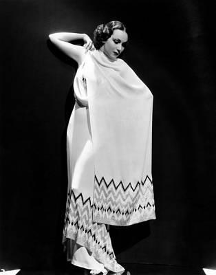 Dolores Del Rio, 1935 Art Print by Everett