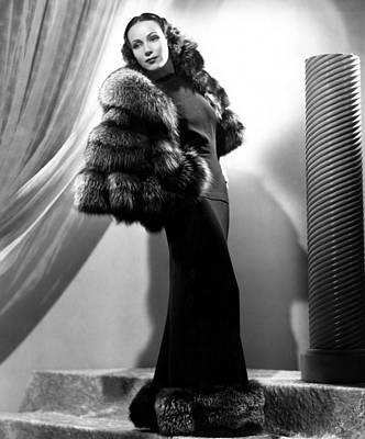 Dolores Photograph - Dolores Del Rio, 1937 by Everett