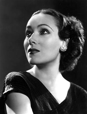 Beauty Mark Photograph - Dolores Del Rio, Ca. 1935 by Everett