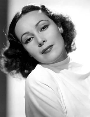 Del Rio Photograph - Dolores Del Rio, Fox Film Corp, 1930s by Everett