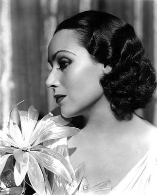 Beauty Mark Photograph - Dolores Del Rio, Portrait Ca. 1934 by Everett