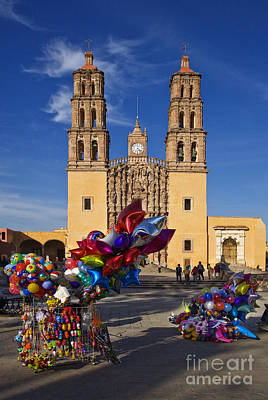 Photograph - Dolores Hidalgo Cathedral  by Craig Lovell