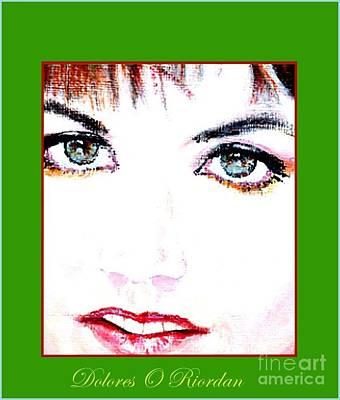 Dolores Digital Art - Dolores O Riordan  by Liam O Conaire
