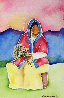 Dolores Art Print by Regina Ammerman