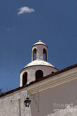 Photograph - Dome And Cloud Mineral De Pozos Mexico by John  Mitchell