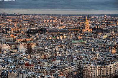 Invalides Photograph - Dome Des Invalides by Romain Villa Photographe