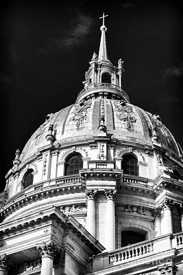 Hotel Des Invalides Photograph - Dome Details by John Rizzuto