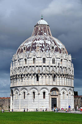 Photograph - Dome Of Pisa 2 by Allan Rothman