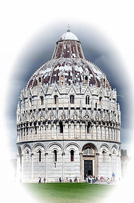 Photograph - Dome Of Pisa Italy by Allan Rothman