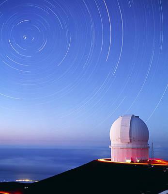 Dome Of The Canada-france-hawaii Telescope Art Print