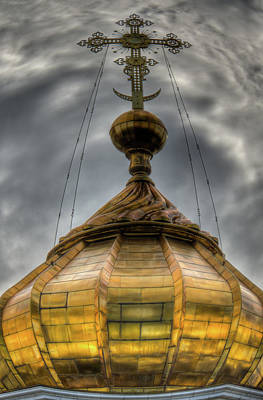 Photograph - Dome Of The Cathedral by Michael Goyberg