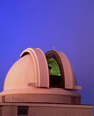Schmidt Photograph - Dome Of The Uk Schmidt Telescope, Australia by David Nunuk